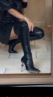 shoes,black,high heels