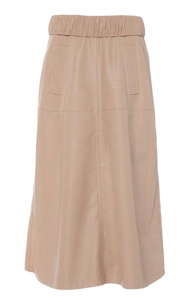 Johanna Ortiz Style Memory Midi Skirt Size: 2 in neutral