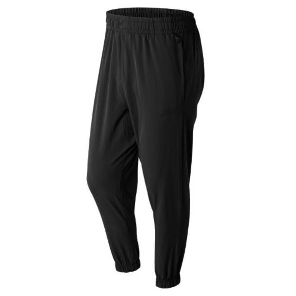 New Balance 71524 Men's Sport Style Woven Pant - Black (MP71524BK)