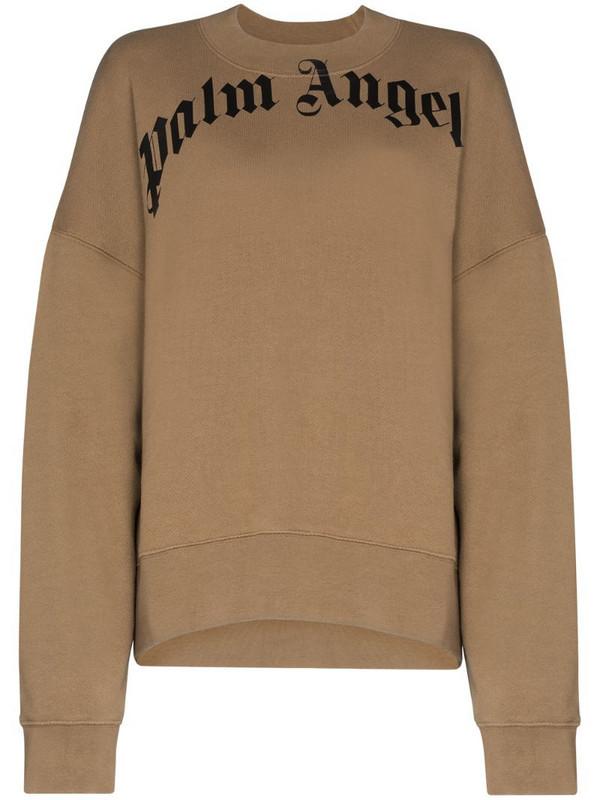 Palm Angels X Browns 50 bear sweatshirt in brown