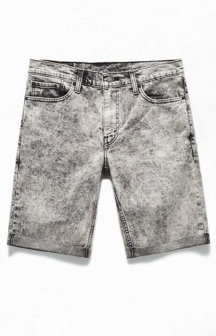 Acid Black 511 Cutoff Denim Shorts
