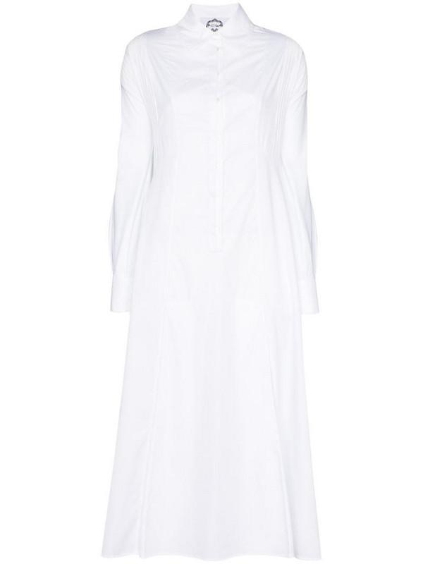 Evi Grintela Honesty shirt dress in white