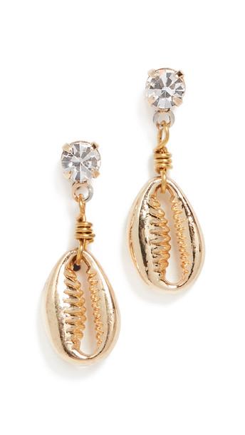 Shashi Diamond Baltic Earrings in gold