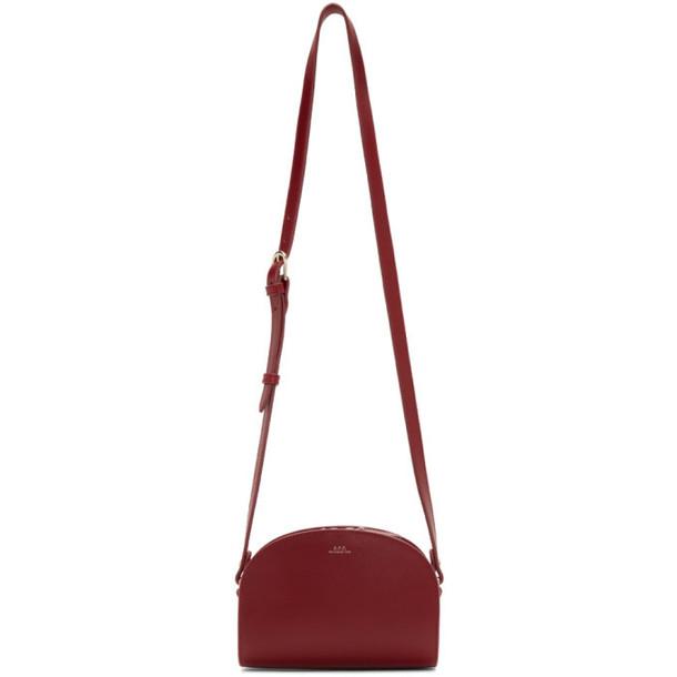 A.P.C. A.P.C. Red Mini Half-Moon Bag