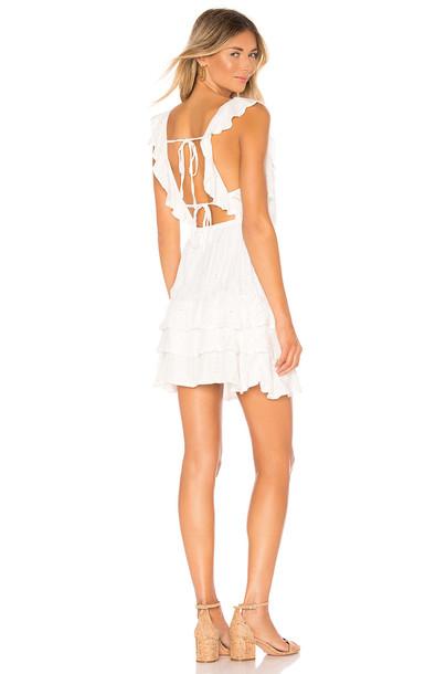 Sundress Emy Dress in white