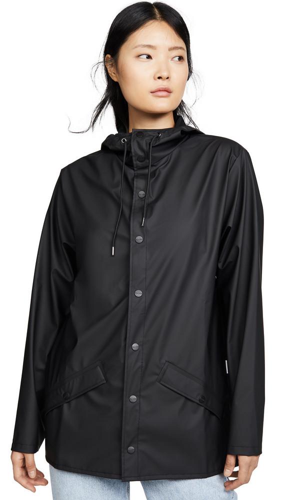 Rains Rain Jacket in black