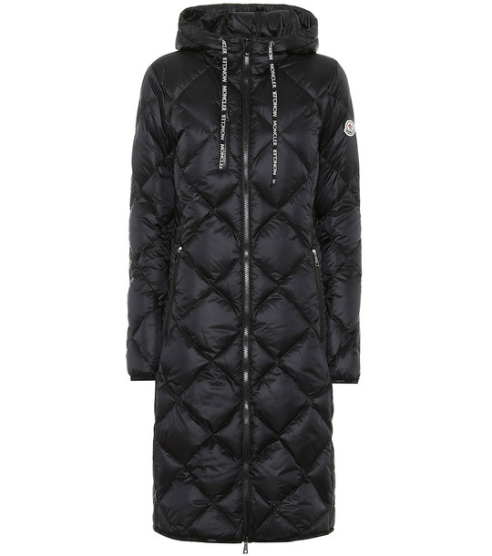 Moncler Suvex down coat in black