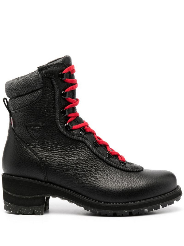 Rossignol lace-up ankle boots in black