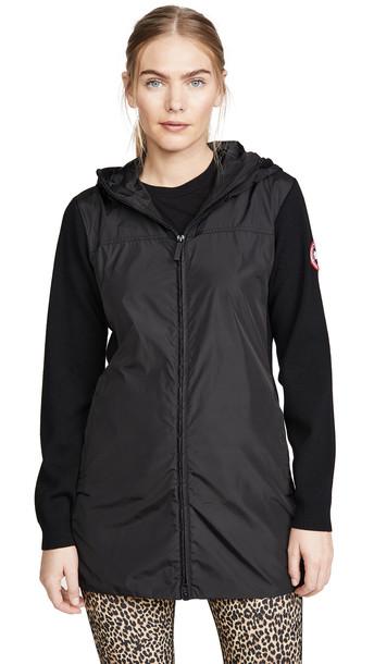 Canada Goose Windbridge Hooded Jacket in black