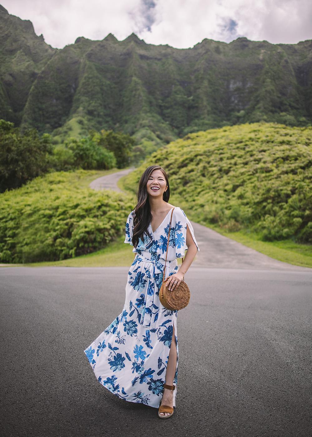 skirttherules blogger dress bag shoes maxi dress round bag sandals