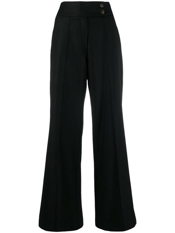 Société Anonyme Pauline wide-leg trousers in black