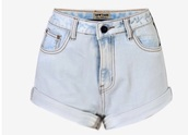 shorts,acid wash,light blue,jeans,denim,acid wash jeans,High waisted shorts,denim shorts