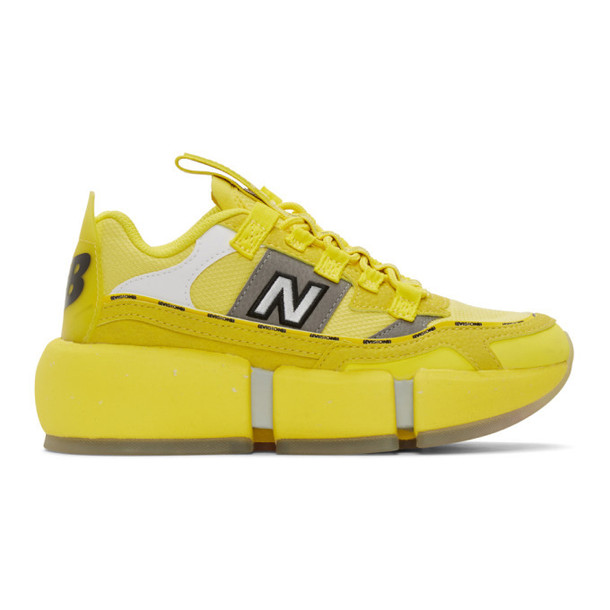 New Balance Yellow Jaden Smith Edition Vision Racer Sneakers