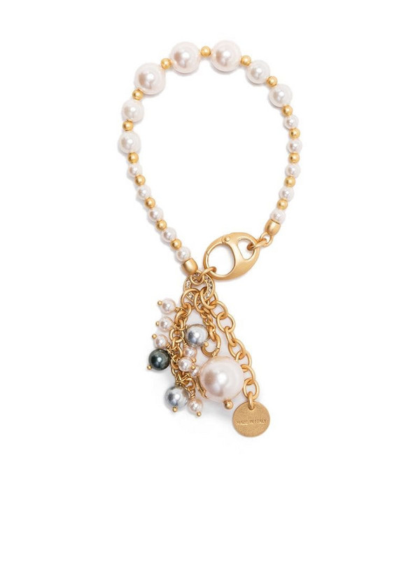 Ports 1961 pearl charm mix bracelet in gold