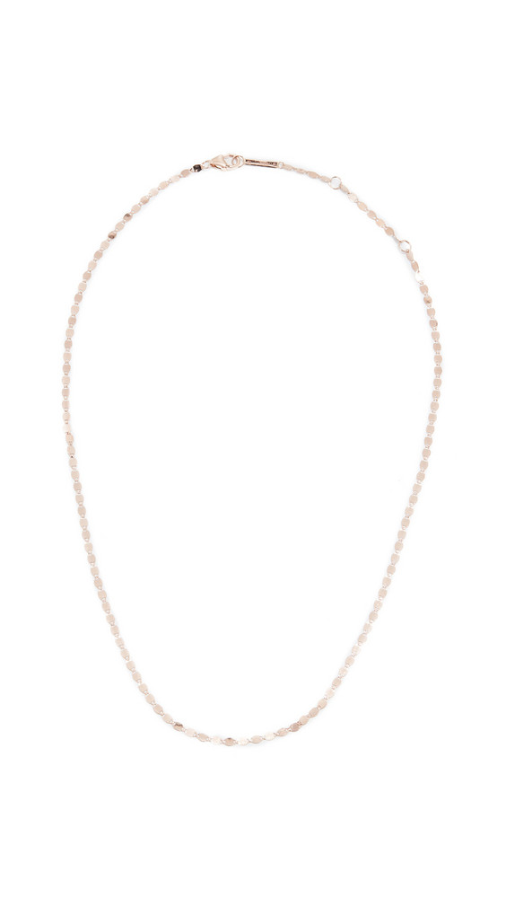 Lana Jewelry 14k Petite Nude Chain Choker Necklace in gold / rose