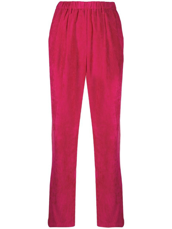 Forte Forte corduroy finish trousers in pink