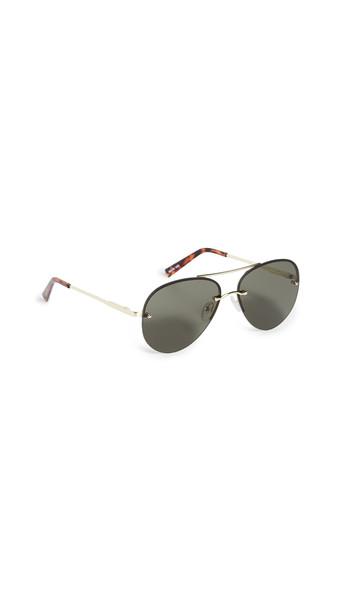 Le Specs Panarea Sunglasses in gold