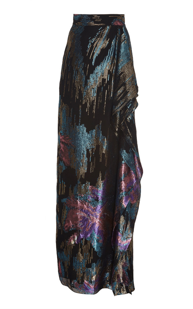 Peter Pilotto Fireworks Fil Coupe Skirt in multi
