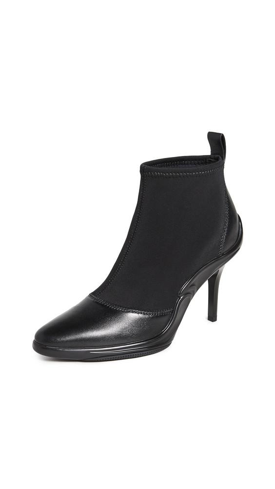 Stella Luna Hybrid Heel Booties in black