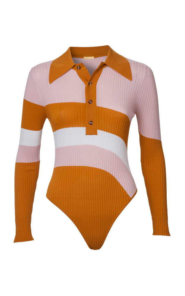 DoDo Bar Or Hera Bodysuit in orange