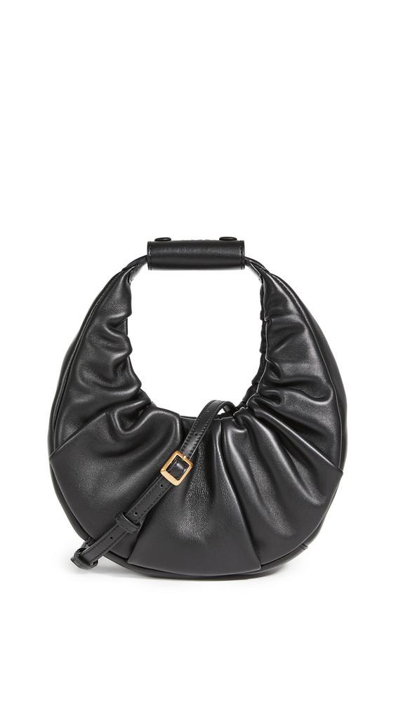 STAUD Mini Soft Moon Bag in black