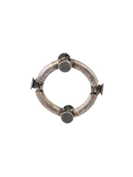 Guidi Gan 16 ring in silver
