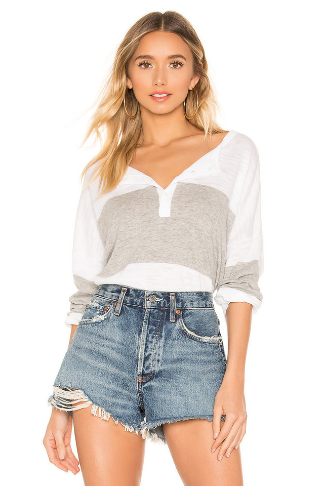 360CASHMERE Spencer Top in white