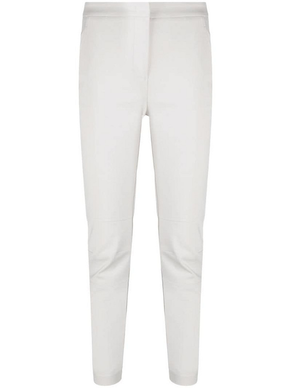 Lorena Antoniazzi slim tailored trousers in neutrals