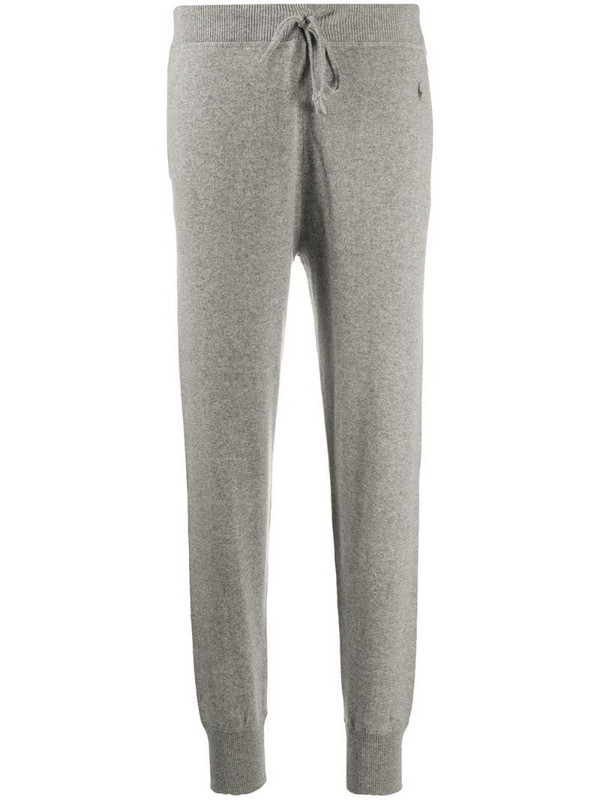Polo Ralph Lauren cashmere track trousers in grey