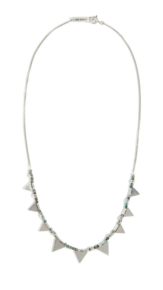 Isabel Marant Triangle Necklace in silver