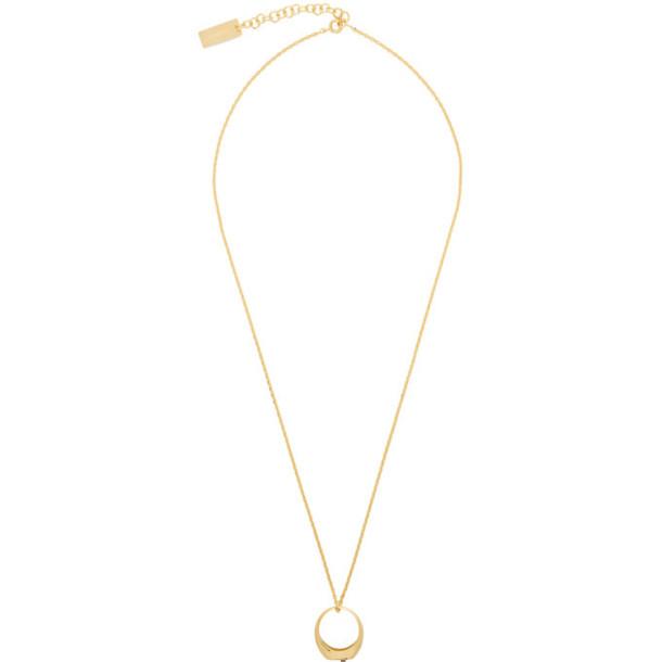 Jacquemus Gold 'La Chaine Chevalière' Necklace