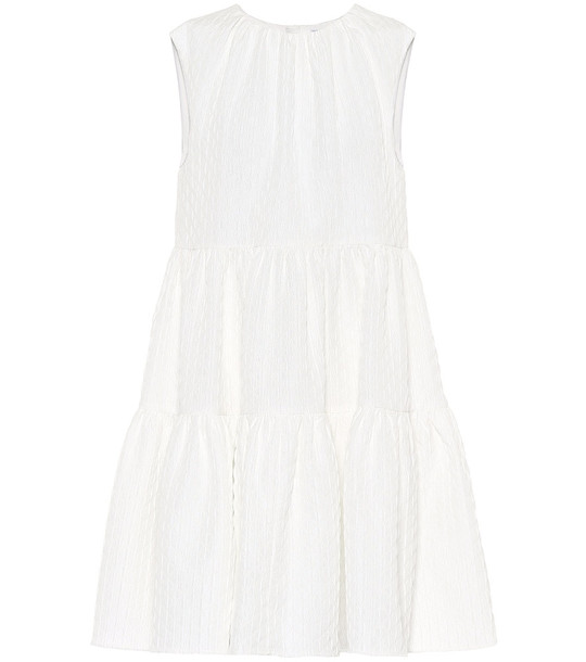 MSGM Sleeveless minidress in white