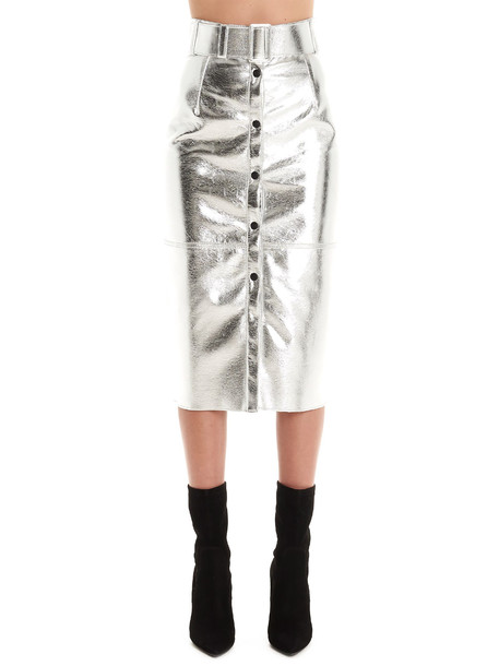 Msgm Skirt in silver