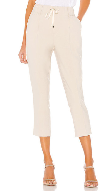 ATM Anthony Thomas Melillo Micro Twill Pull On Pant in Beige