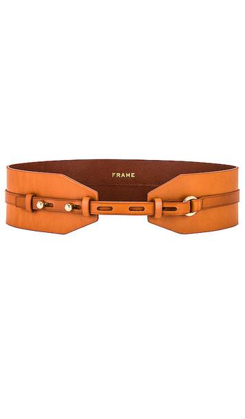 FRAME Waist Belt in Brown in natural