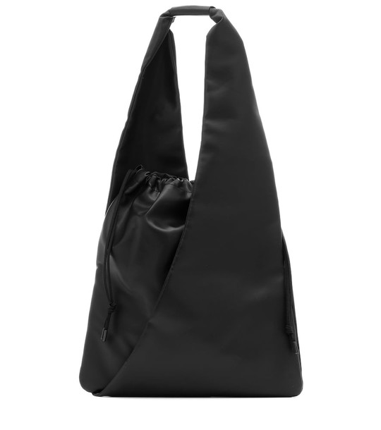 MM6 Maison Margiela Slouchy Medium shoulder bag in black