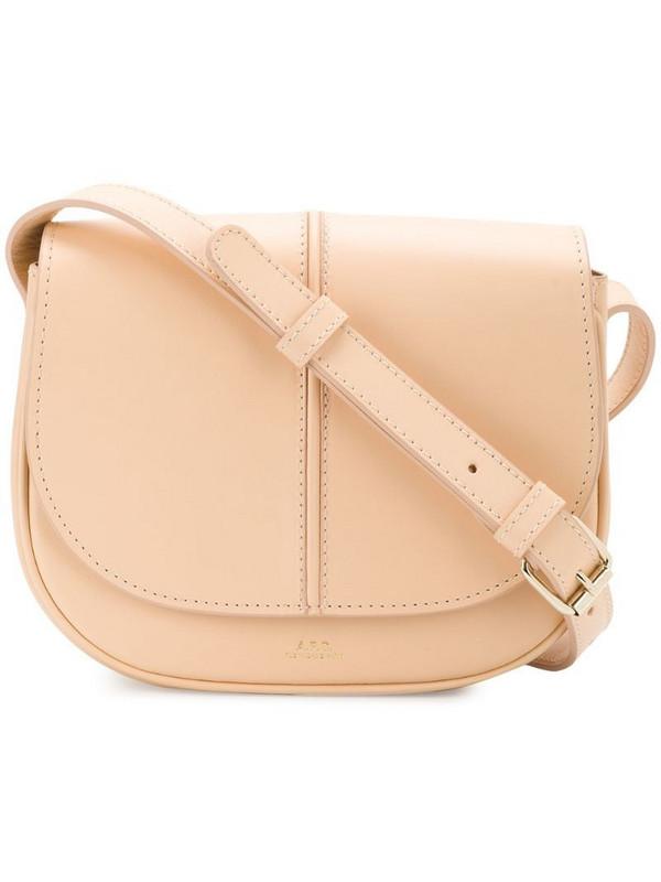 A.P.C. Betty shoulder bag in neutrals