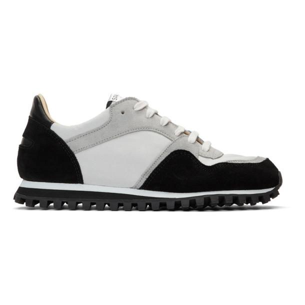 Spalwart Black Marathon Low Sneakers