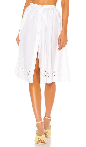 LPA Orsina Skirt in White