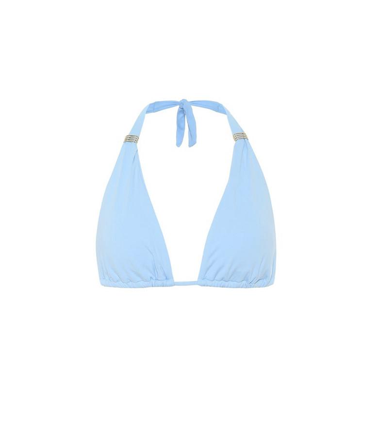 Melissa Odabash Grenada bikini top in blue