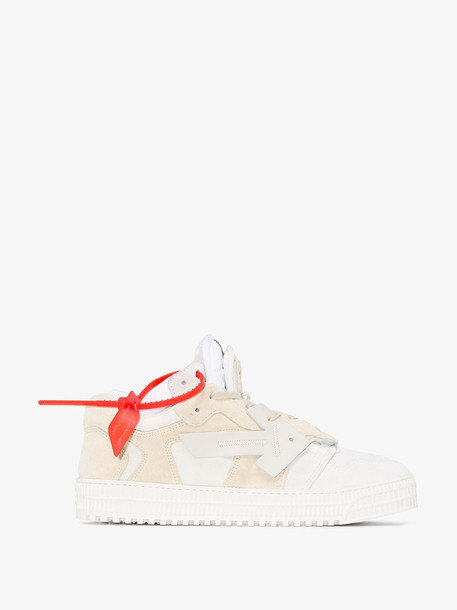 Off-White OFWHT 4 0 SNEAKER SUE LTHR LCUP HT in neutrals