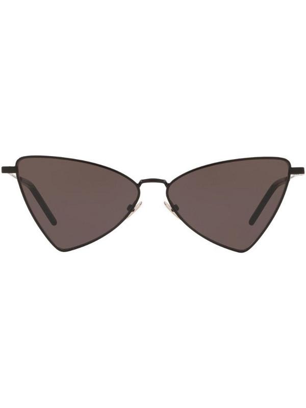 Saint Laurent Eyewear SL 303 Jerry cat-eye frame sunglasses in black