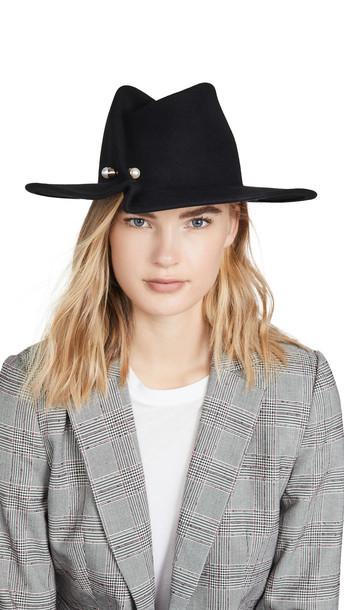 Eugenia Kim Giovanna Hat in black