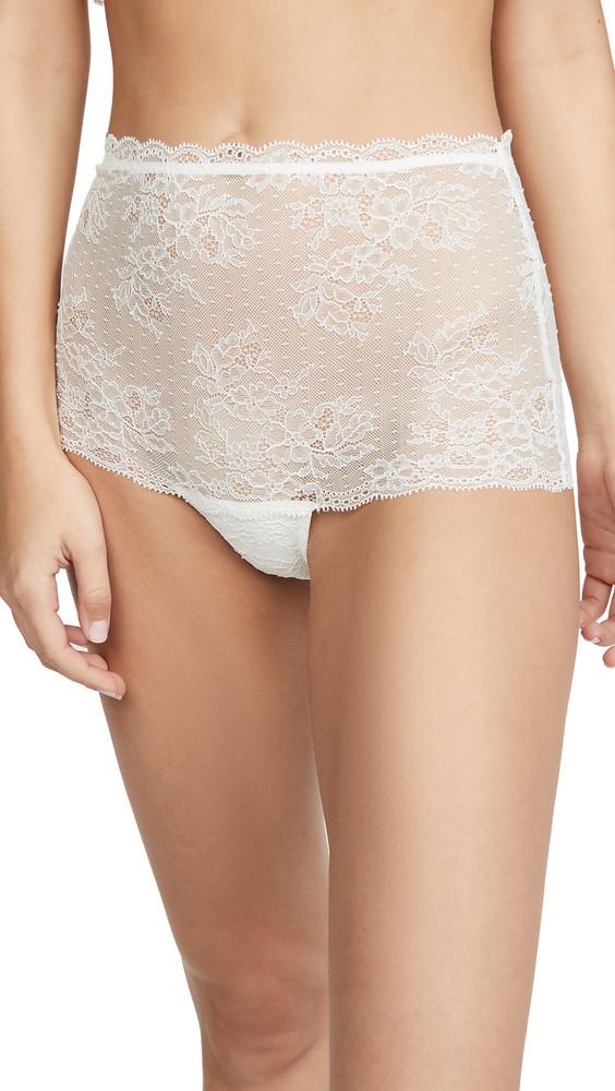 Eberjey One & Only High Waist Brazilian Bikini Panties in ivory