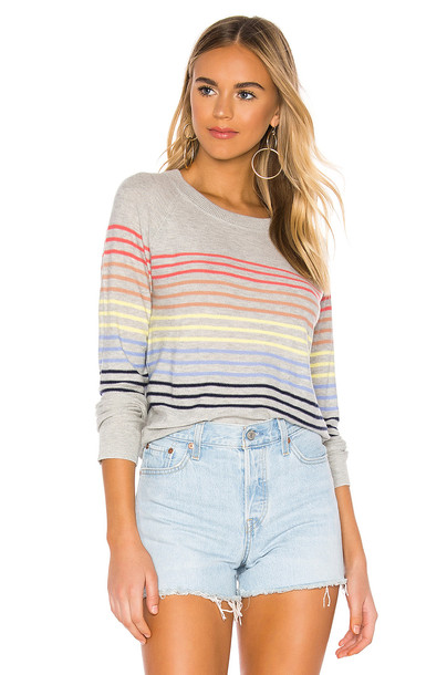 Splendid Daydream Cashmere Blend Sweater in gray