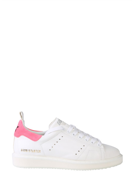 Golden Goose Starter Sneakers in bianco