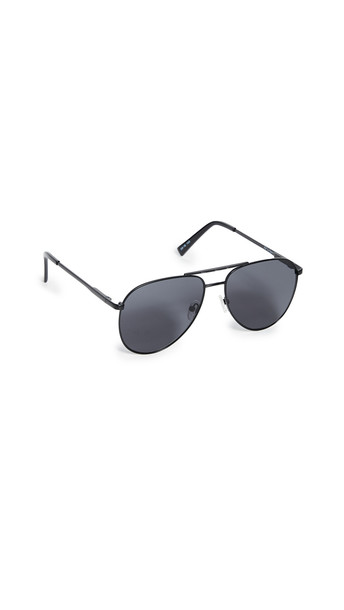 Le Specs Road Trip Sunglasses in black