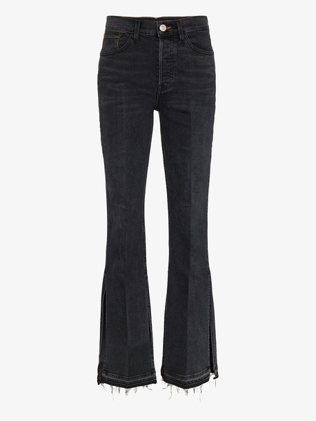 3x1 X Mimi Cuttrell Kellie flare high-rise jeans in blue