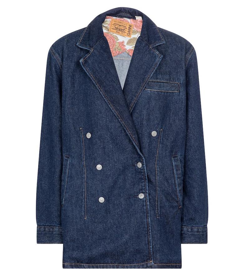 Ganni x Levi's® denim blazer in blue