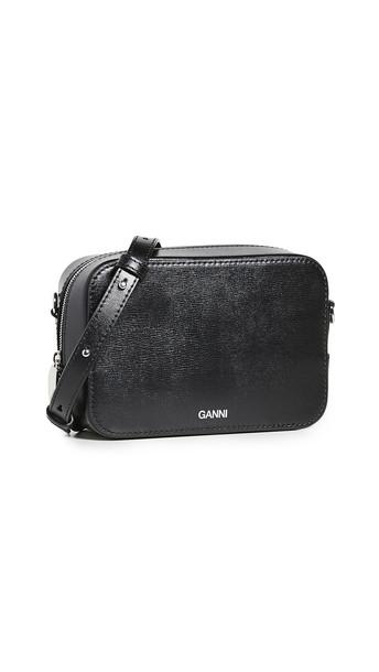 GANNI Crossbody Bag in black